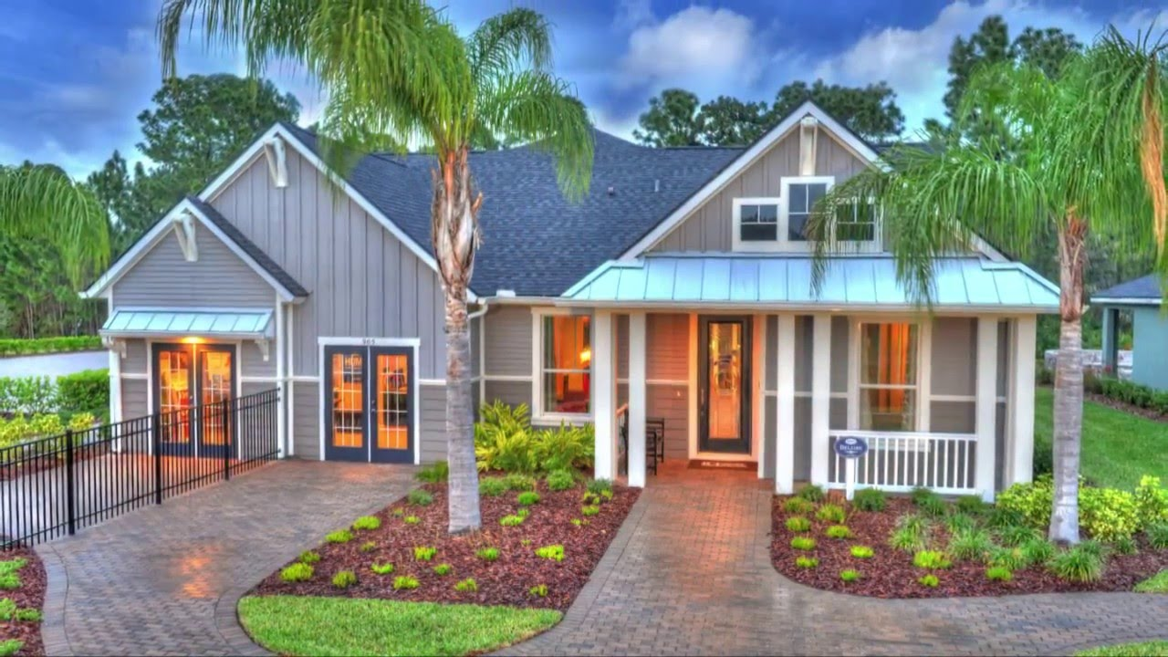 Ici homes official site - Belaire Ici Homes Custom Model Home Chelsea Place Ormond Beach Florida