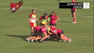 queensland v ozboks hottest 7s 2016 day one field one