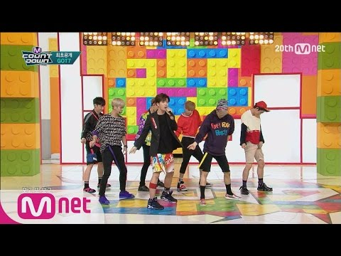 GOT7(갓세븐) - 'Just Right(딱좋아)' M COUNTDOWN 150716 COMEBACK Stage Ep.433