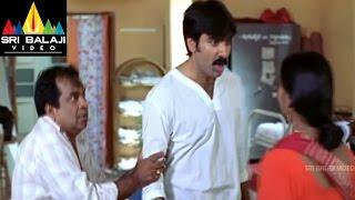 Vikramarkudu Movie Attili Satti Funny Fight With Ladies | Ravi Teja, Anushka | Sri Balaji Video