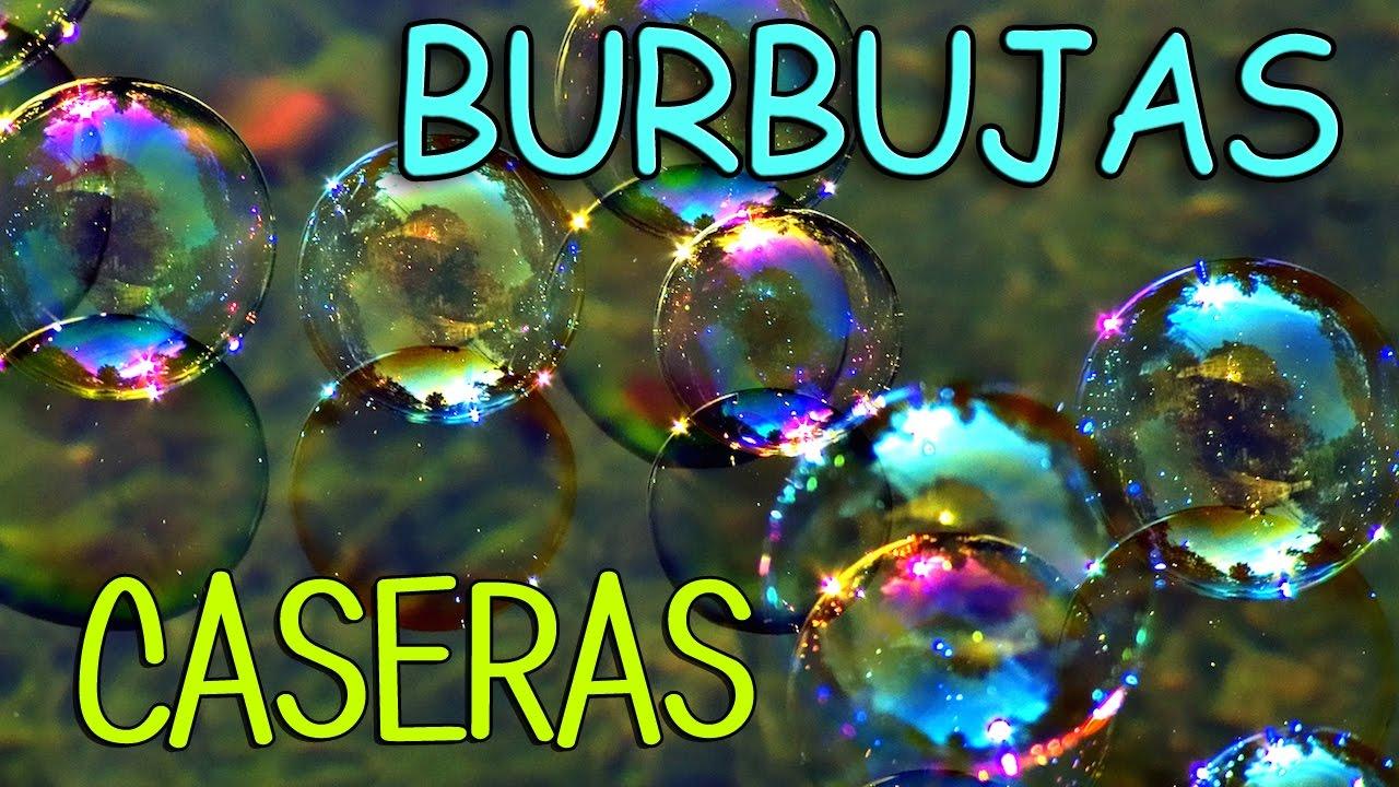 Experimentos Para Niños Cómo Hacer Liquido Para Burbujas De Jabón