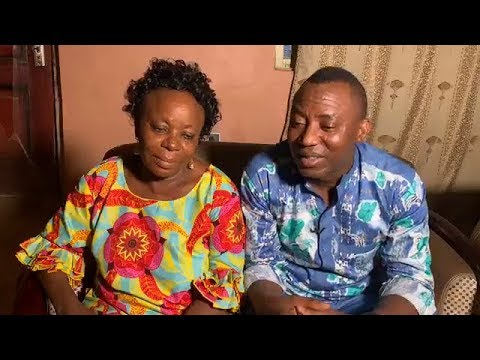 Image result for Sowore and his mother