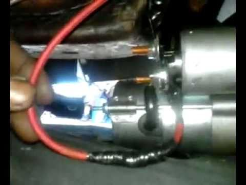 my stage-1 buick 455 regal's james mcclinton mini-starter re-wiring!  7-17-2011 - youtube