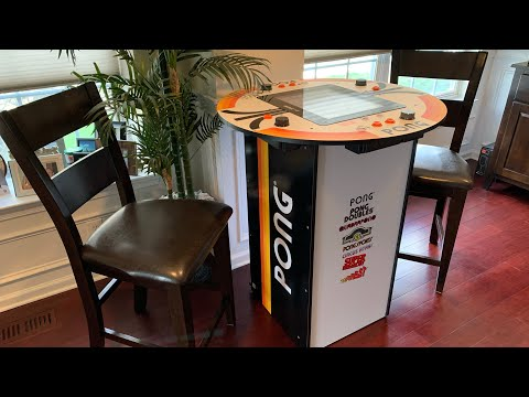 ATARI PONG PUB TABLE Arcade1up FULL REVIEW! from The 3rd Floor Arcade with Jason