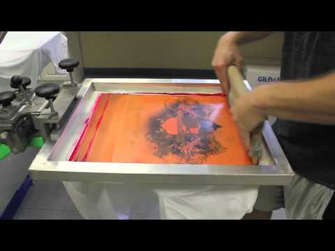 (CMYK) Screen Printing 4 Color Process