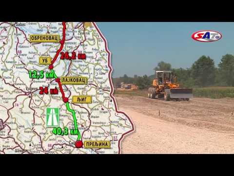 KORIDOR 11 OBRENOVAC-PRELJINA – Emisija SAT 05.03.2017.
