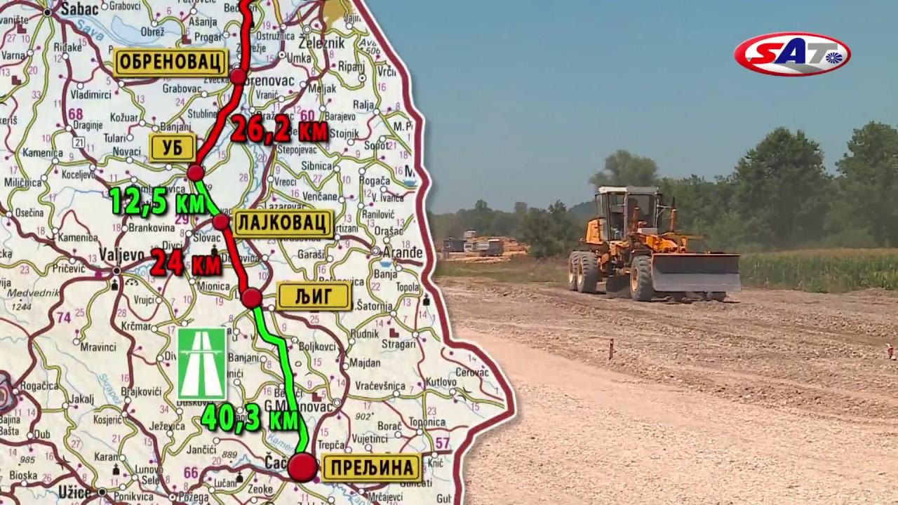 Koridor 11 Obrenovac Preljina Emisija Sat 05 03 2017 Youtube