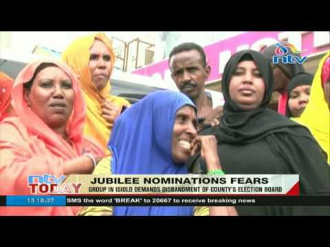 Party supporters demand disbandment of Jubilee's Isiolo election board