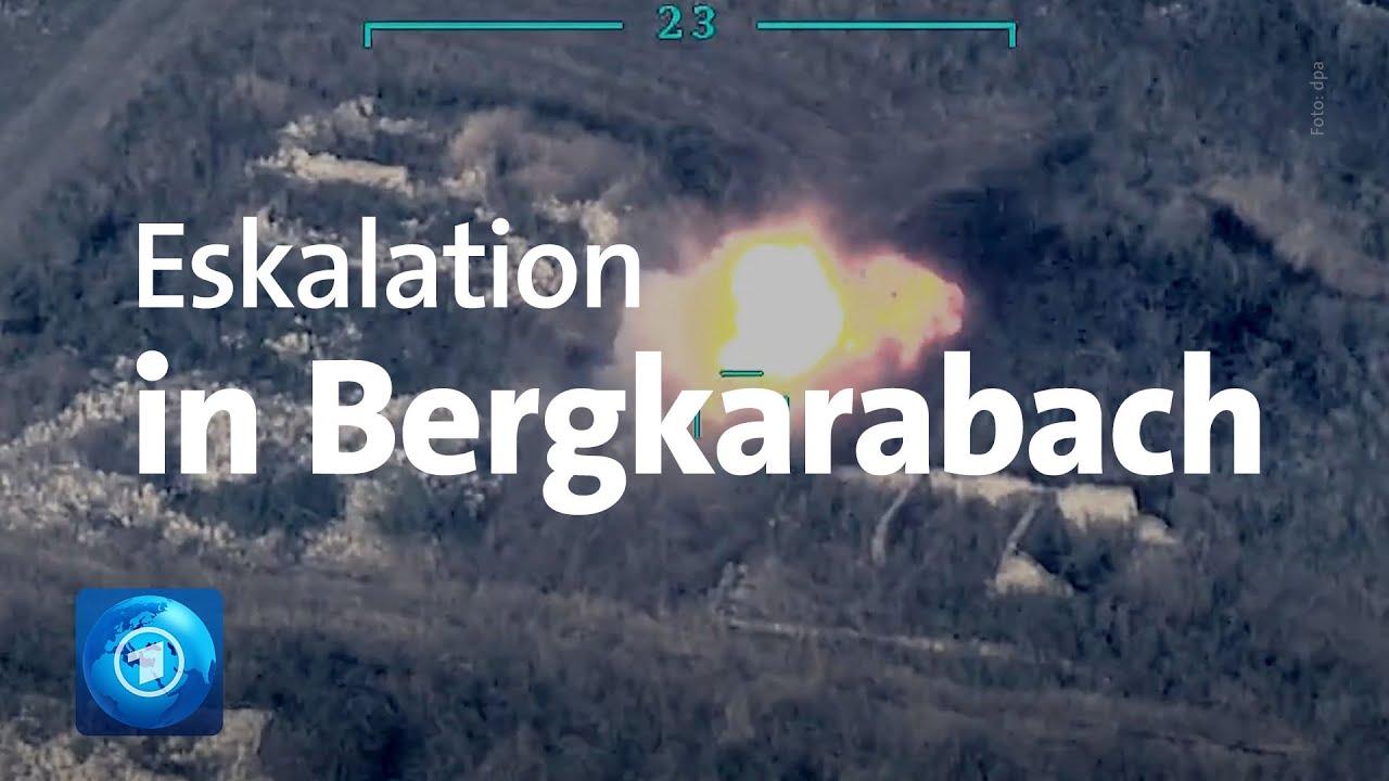 Kriegsrecht Verhangt Kampfe Zwischen Aserbaidschan Und Armenien Youtube