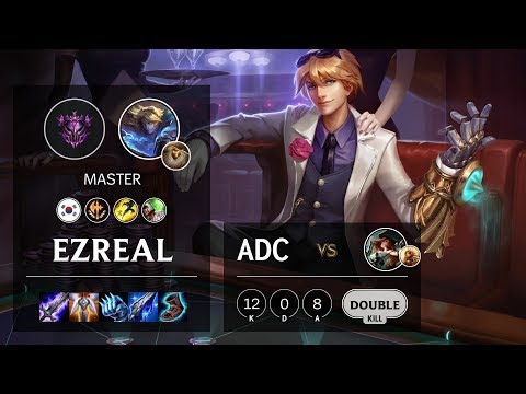 Ezreal ADC vs Miss Fortune - KR Master Patch 10.6