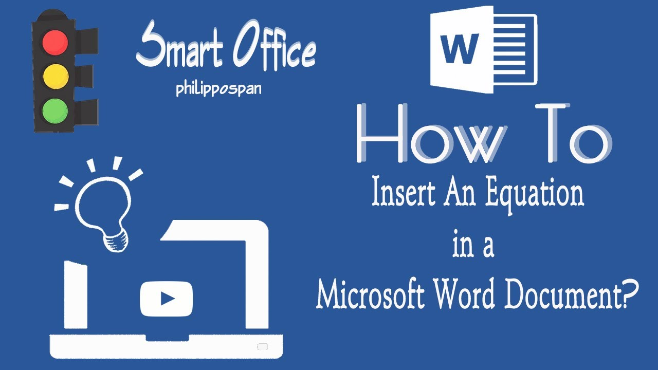 how to right get equation in word