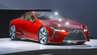 The Lexus LC 500 is a big, powerful, flagship coupe