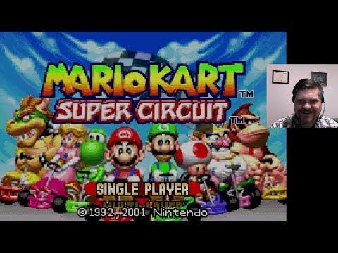 Mario Kart: Super Circuit - Game Boy Advance (WiiU Virtual Console)   VGHI Play 'n' Chat Live Stream