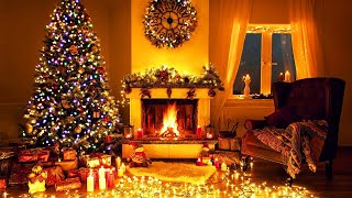 Peaceful Christmas Music, Fireplace Sounds, Relaxing Christmas Classic Music, Christmas Ambience