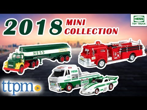 Hess Toy Truck 2018 Mini Collection [REVIEW] | Hess Corporation