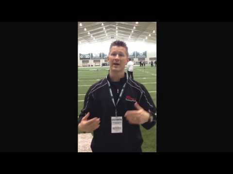 40 Yard Dash Tips - Acceleration Speed Training Tips From An NFL Pro Day