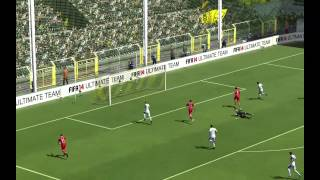 FIFA 14 GAMEPLAY ONLINE, ID ORIGIN: B3LONI