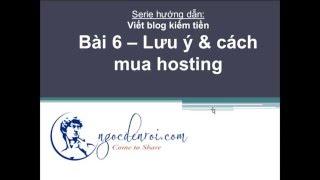 Bài 6 - Hosting là gì & cách mua hosting