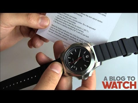 Victorinox Swiss Army INOX Watch Review | aBlogtoWatch