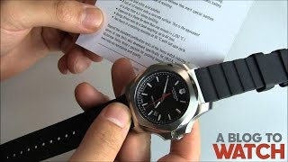 Gambar cover Victorinox Swiss Army INOX Watch Review | aBlogtoWatch