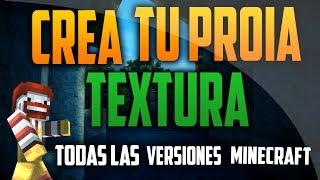 Como Crear un Pack de Texturas Para Minecraft | Todas las versiones