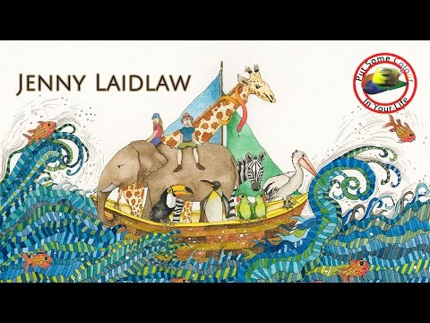 Fine art tips on How to Paint Storybook Art with Jenny Laidlaw on Colour In Your Life