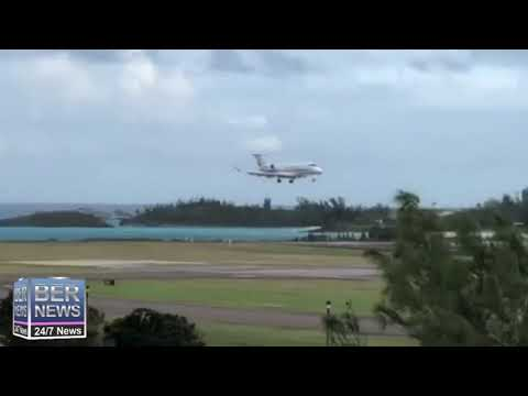 Private Jets Land In Bermuda, March 26 2020