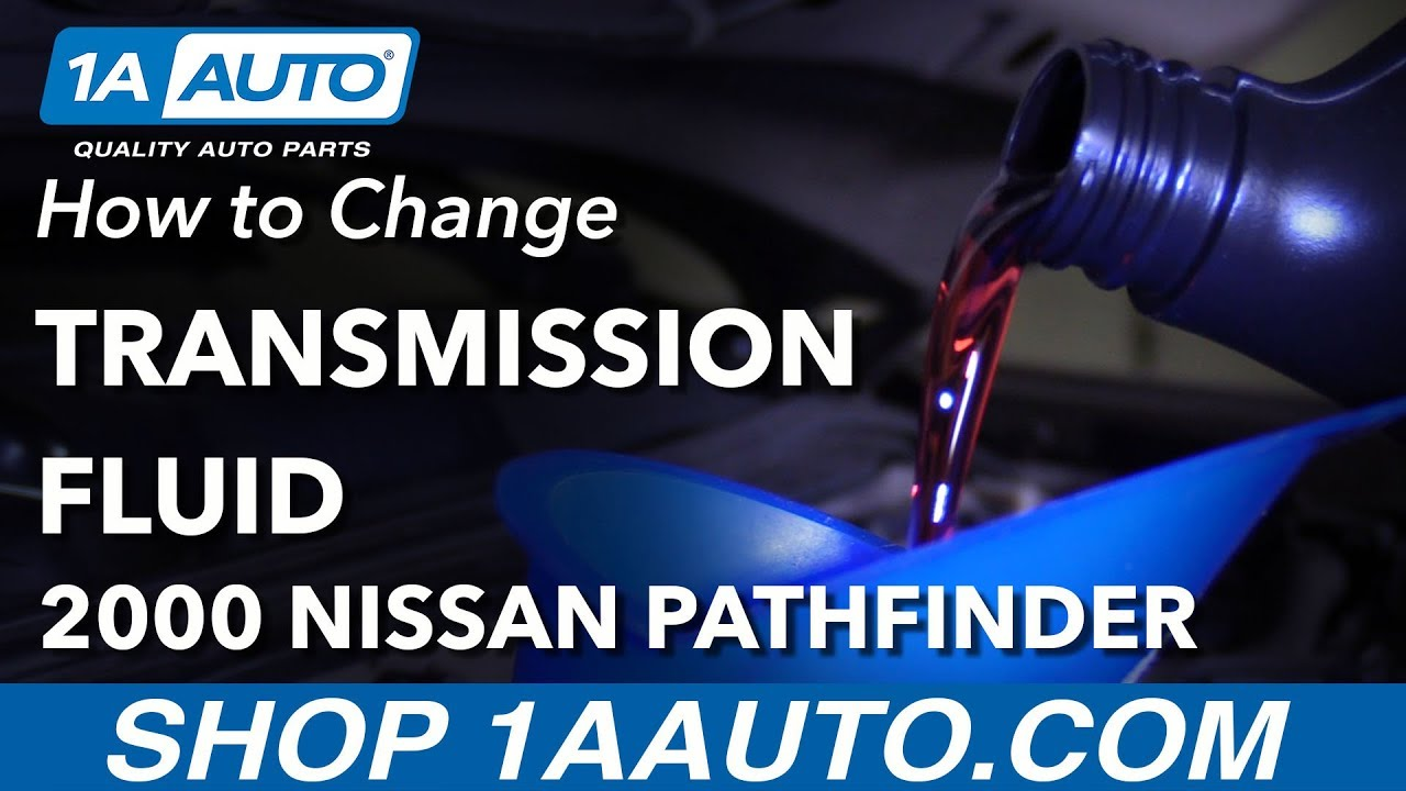 How to Change Transmission Fluid 96-04 Nissan Pathfinder