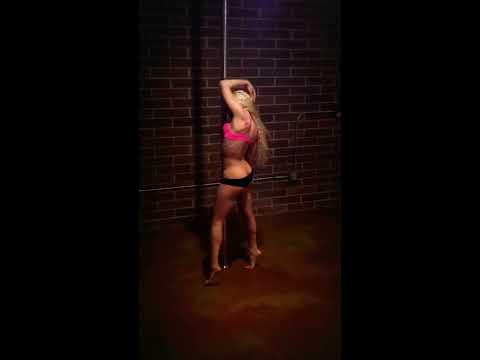 Baybiie Performing to  Skin  Rihanna