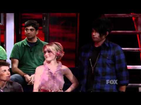 Adam Lambert-American Idol Top 11 (group performance+night results)