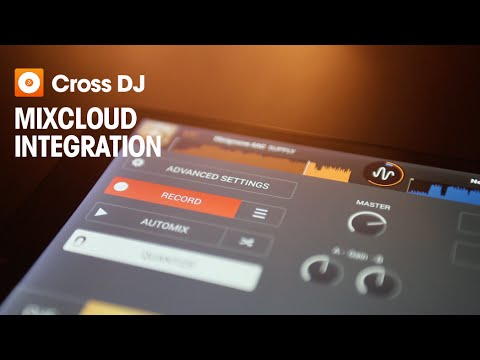 Cross DJ For Android | Mixcloud Integration