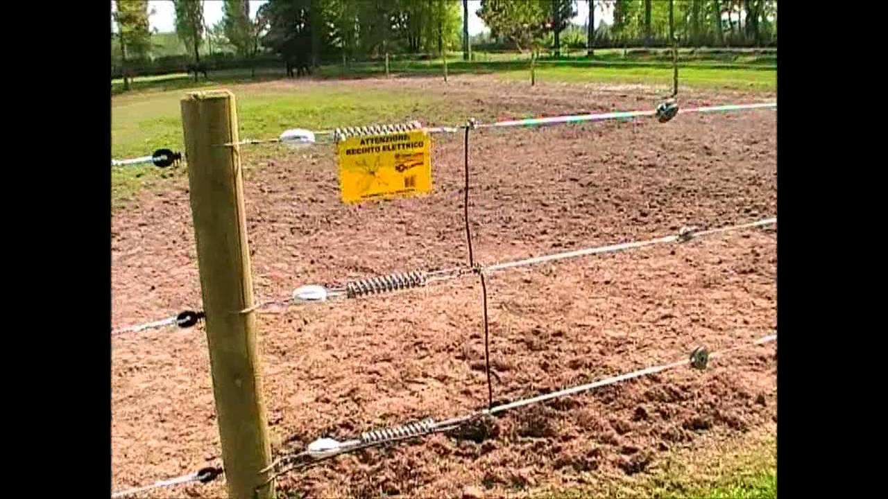 Recinzione elettrica con equifence youtube for Recinzione elettrica per cavalli