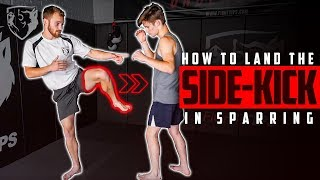 7 Ways to Land the Side Kick in Sparring