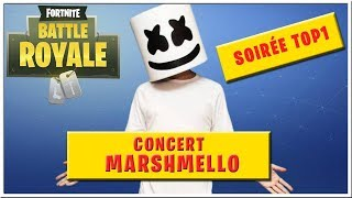 🔴 DEFI CONCERT MARSHMELLO FORTNITE BATTLE ROYALE ! + Tournoi TOP 1