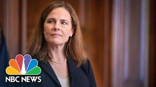 Senate Votes To Confirm Amy Coney Barrett To Supreme Court   NBC News