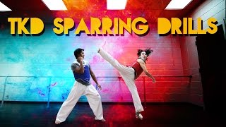 TKD Sparring Drills for Beginners