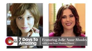 Red Carpet to Reinvention: Celebrity Chef Julie Anne Rhodes - 7 Days to Amazing Podcast