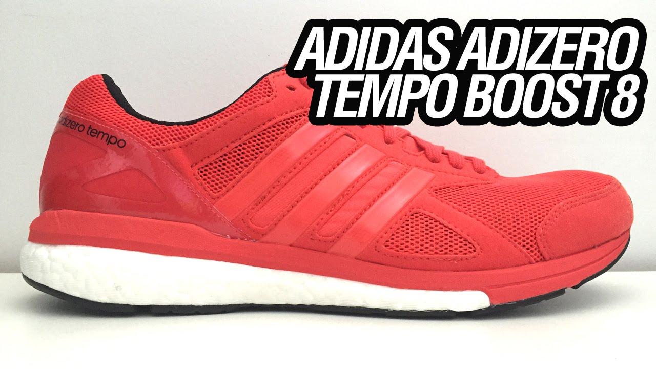 big sale 10a3f abb58 adidas Adizero Tempo Boost 8 (Unboxing)