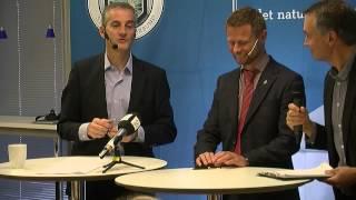 Jonas Gahr Støre og Bent Høie på NSFs inspirasjonstreff