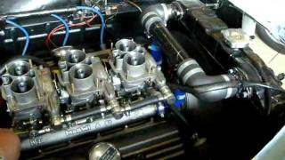 Lancia Aurelia B20 first 32 year engine start up