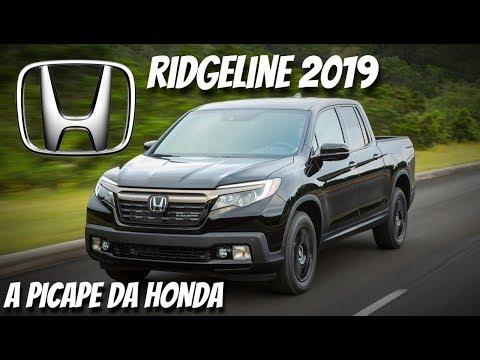 Nova Honda Ridgeline 2019 em Detalhes | Top Carros