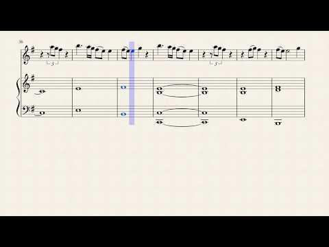 Billie Eilish ft. Khalid - lovely - Flute Sheet Music