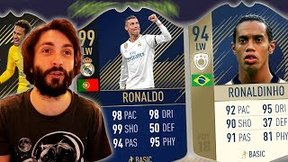 FIFA 18 RETRO DRAFT CHALLENGE!!