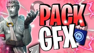 KOSTENLOSE PACK GFX / FORTNITE BATTLE ROYALE / ANDROID
