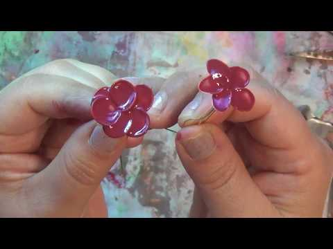My Original Nail Polish Flowers Made 2013 Roses Are Red Violets Are Blue These Are Made Just For You
