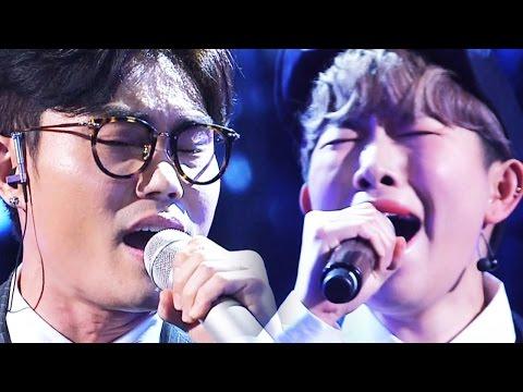 김범수, 생맥주女와 함께 절규에 가까운 미친 라이브 '하루' 《Fantastic Duo 2》 판타스틱 듀오 2 EP04