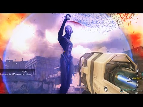 Extinction EXODUS Speedrun! #2 Co-op Walkthrough - Call of Duty Ghosts Nemesis DLC Gameplay