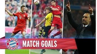 Tore FC Bayern 5 - 1 Dortmund