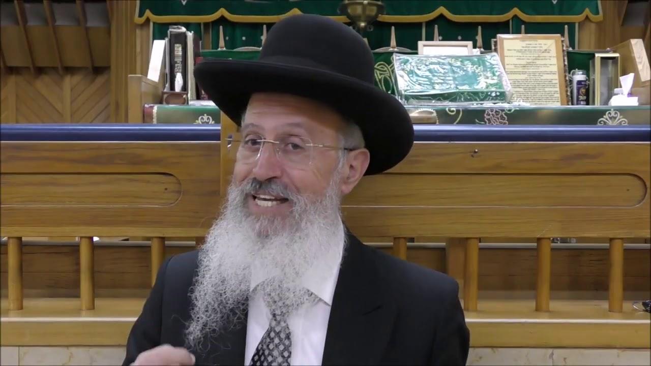 """הרב אברהם יוסף שליט""""א - סדר הברכות לסימנים של ראש השנה - כי תבא תשע""""ט"""