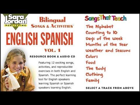 Bilingual Songs | English - Spanish | Vol 1